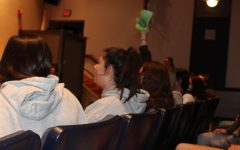 Navigation to Story: Gallery: Walpole High Students Participate in Student Council's Date Auction