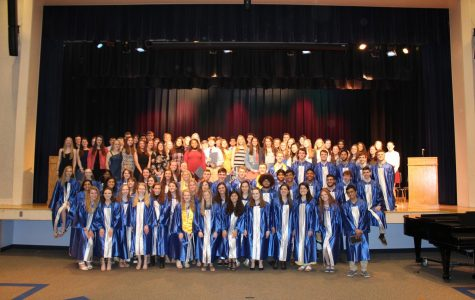 Walpole High School Hosts 2019 National Honor Society Induction Ceremony