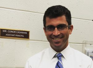 Conor Cashman Accepts Interim Assistant Principal Position at JMS