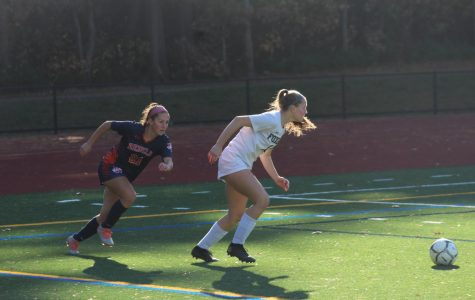 Girls Soccer Falls to Foxboro 2-0