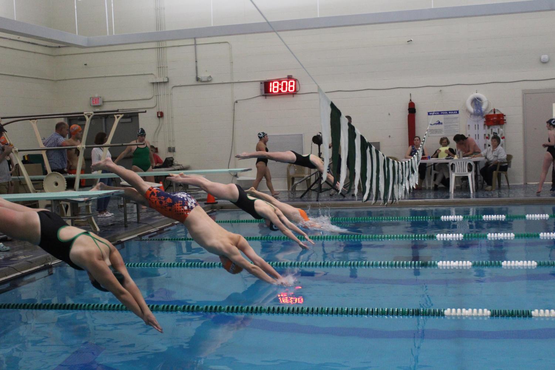 Rebels Swim and Dive Defeat Ursuline on Senior Night