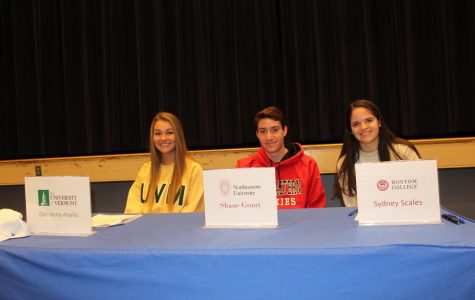 Walpole Athletes Cement Future in College Athletics