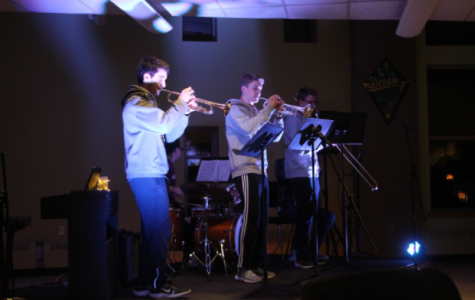 WHS Tri Music Hosted Coffeehouse for Student Performers