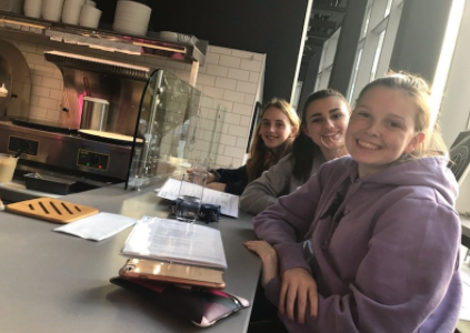 WHS French Club Travels to Paris Creperie