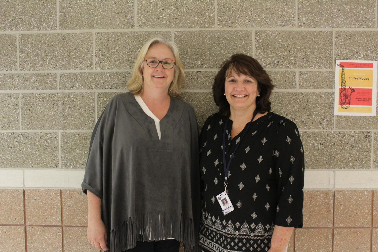Culliton and O'Malley collaborated to organize NEASC's visit at WHS.