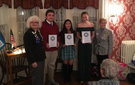 Matt Ferraro Wins Daughters of the American Revolution Good Citizenship Award