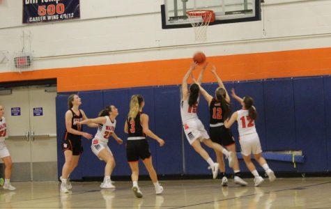 Girls Basketball Falls to Newton-North