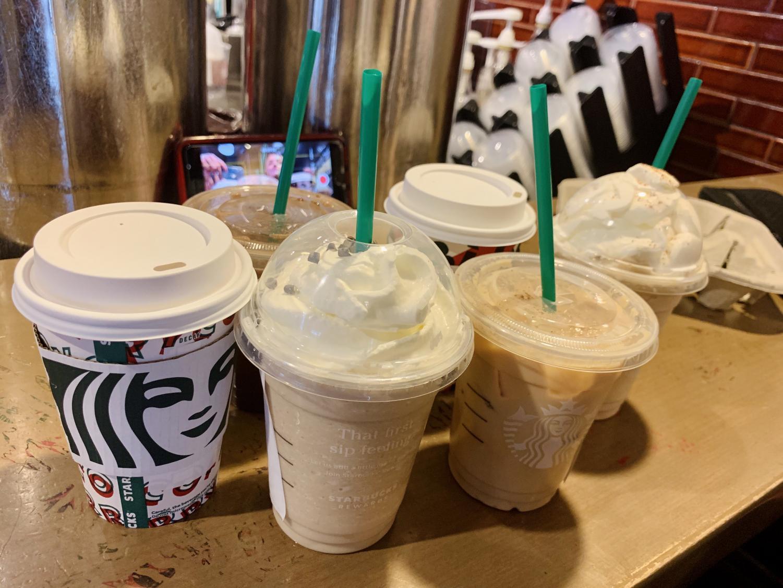 Sipping Seasonal Starbucks Drinks (With Vlog)