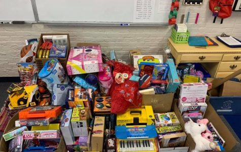 WHS Hosts Toys 4 Tots Drive