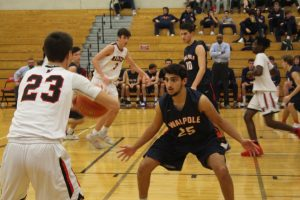 Walpole Boys Basketball Falls to Wellesley
