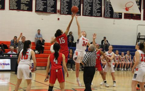 Girls Basketball Defeats Brookline Warriors 62-25