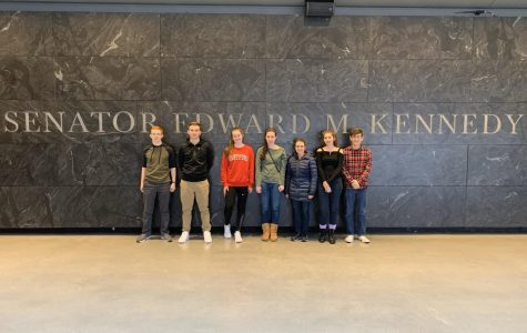 U.S. Government Students Visit Kennedy Institute for the United States Senate