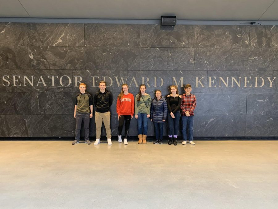 Seven U.S. Government students attended the field trip.
