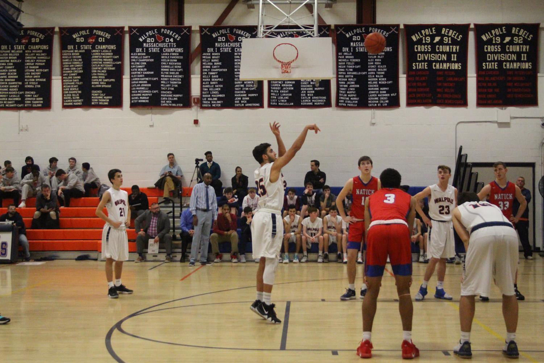 Boys Basketball Falls to Natick