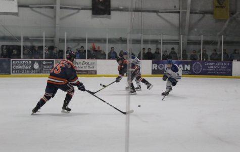 Boys' Hockey Defeats Braintree In Round One Of Playoffs