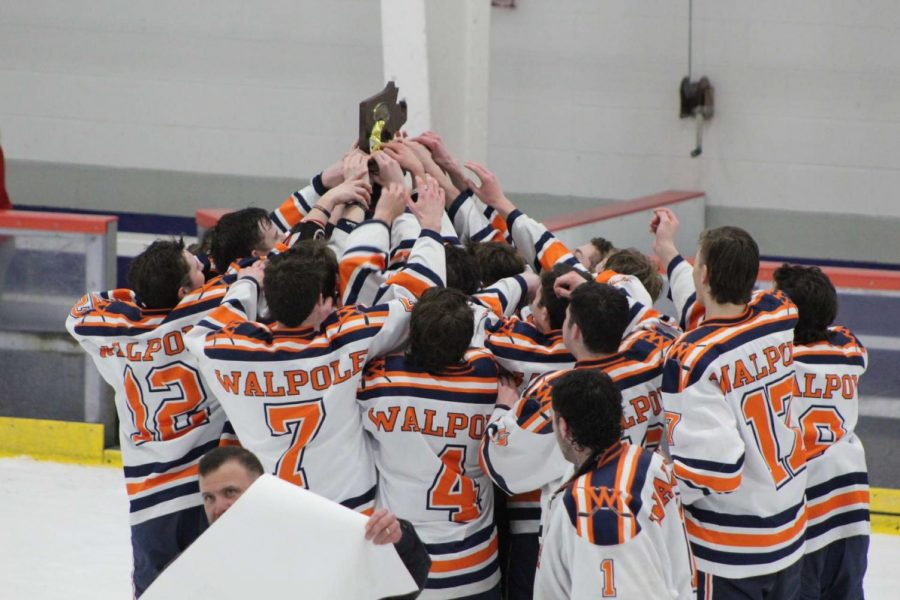 Walpole Boys' Hockey Defeats Archbishop Williams in the Division 1 South Sectional Finals