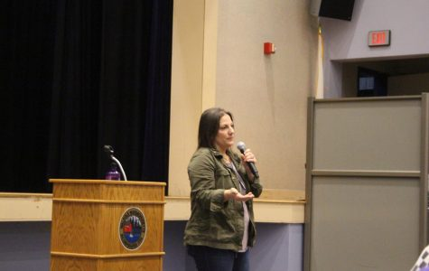 Sex Trafficking Survivor Presents to Seniors