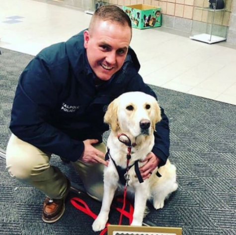 Walpole Community Resource Dog Nominated for National Award