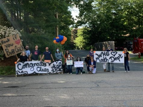Walpole Community Celebrates Senior Class with Ceremony and Parade