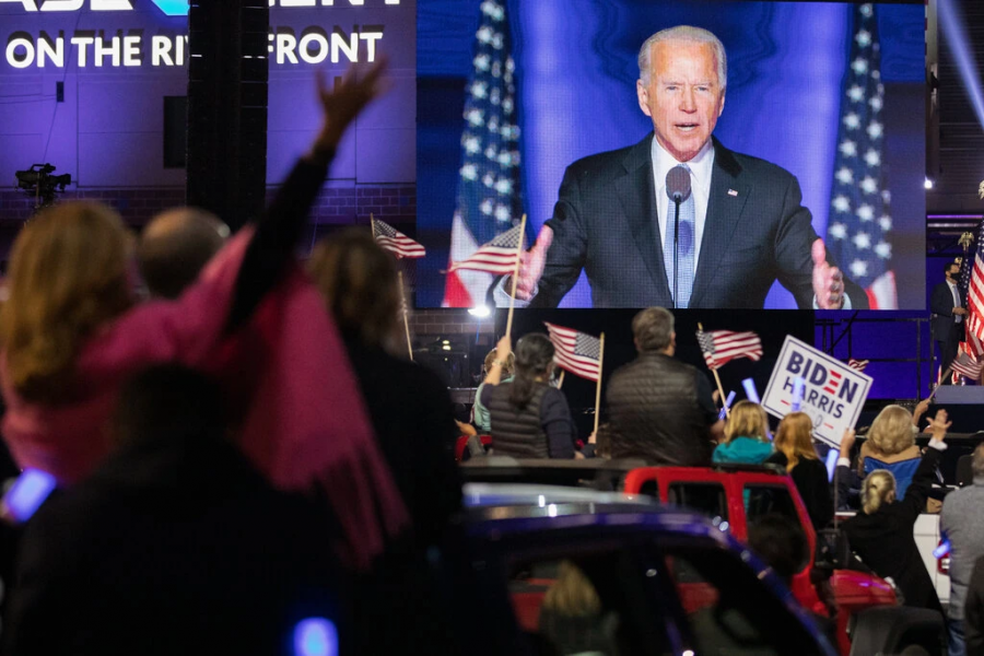 Joe Biden Wins 2020 Presidential Election