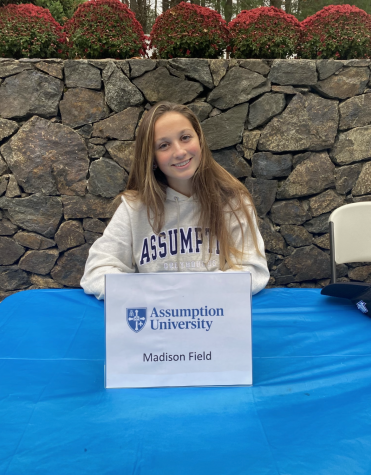 Madison Field Commits to Assumption College