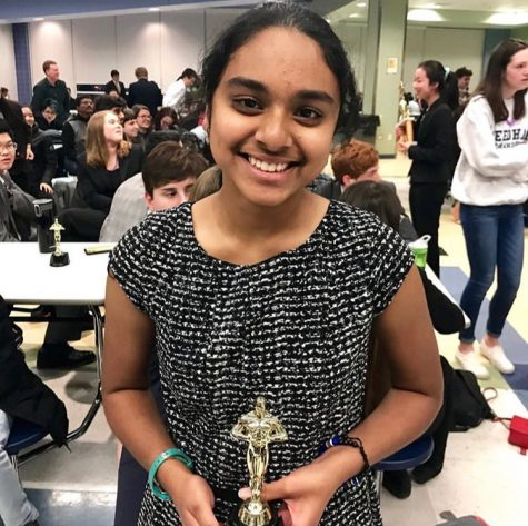 Nidhi Byragoni Qualifies For the National Speech and Debate Association